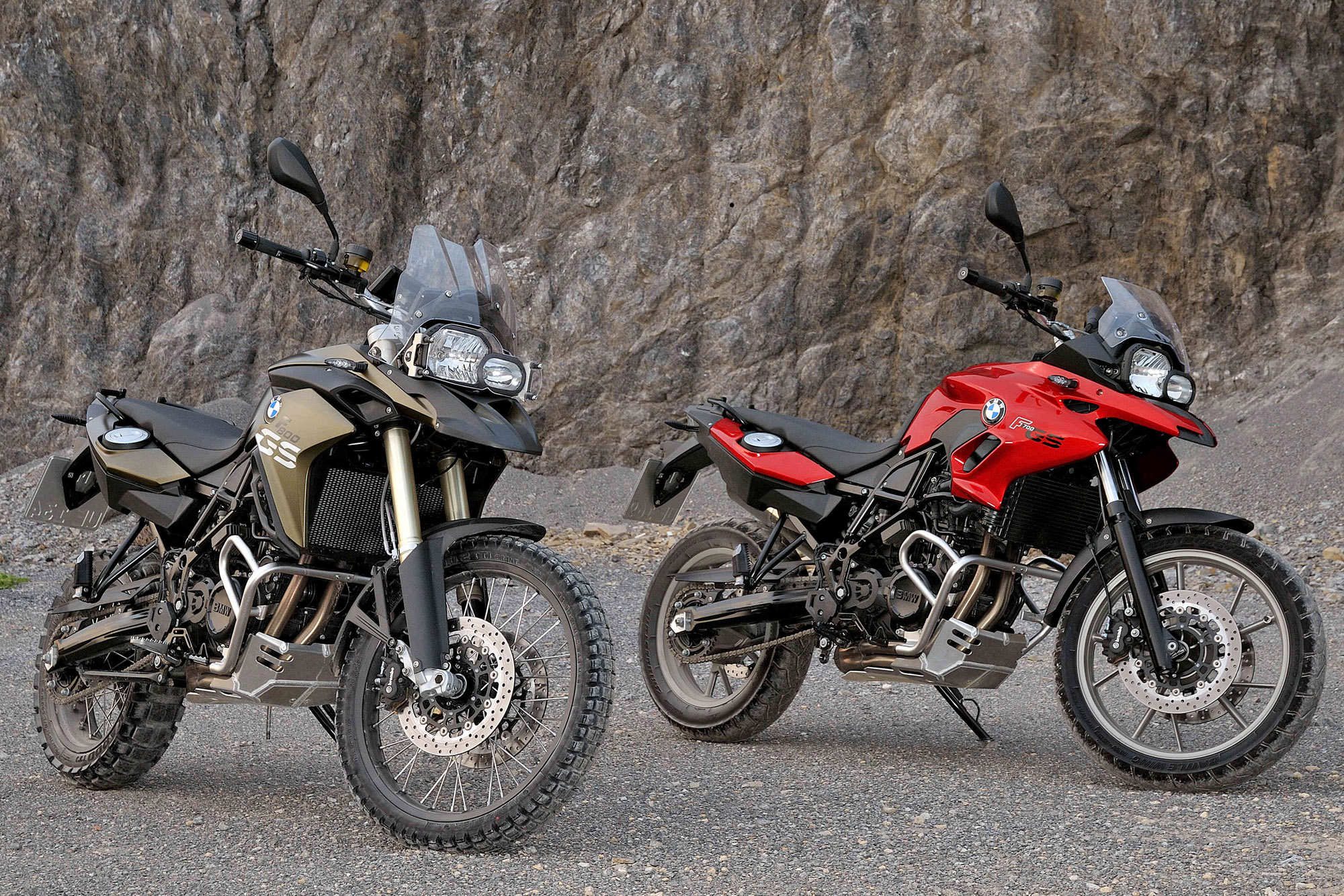New bmw f700gs and f800gs