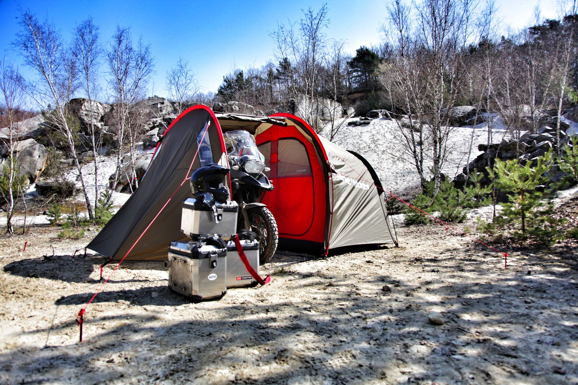 Go Camping With Your Bike Visordown