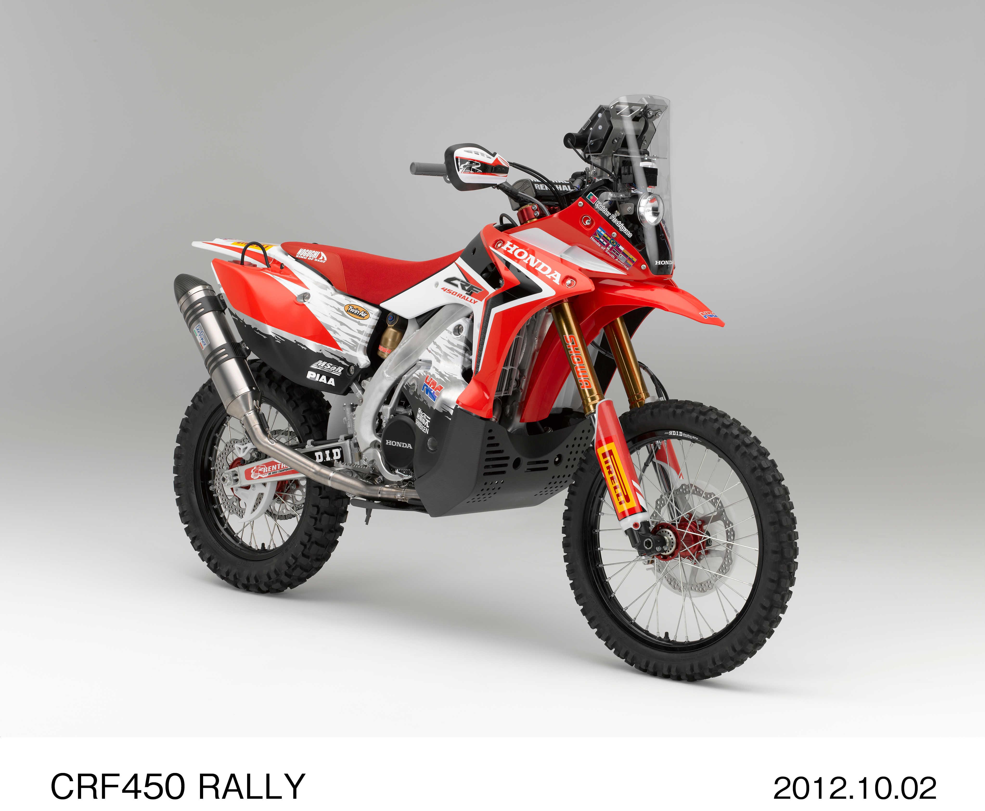 Hondas For Sale >> Intermot: Honda's CRF450 Rally | Visordown