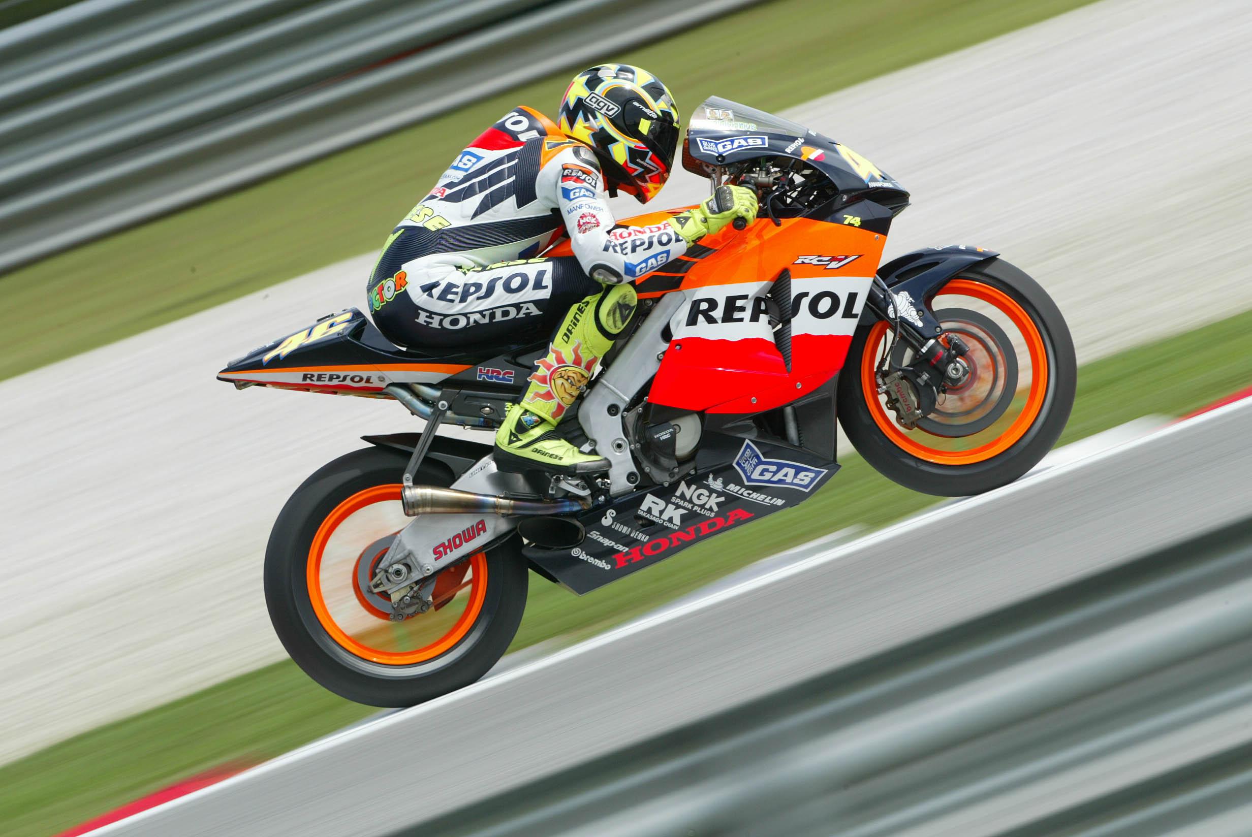 Rossi: Honda V5 was 'a missile' | Visordown
