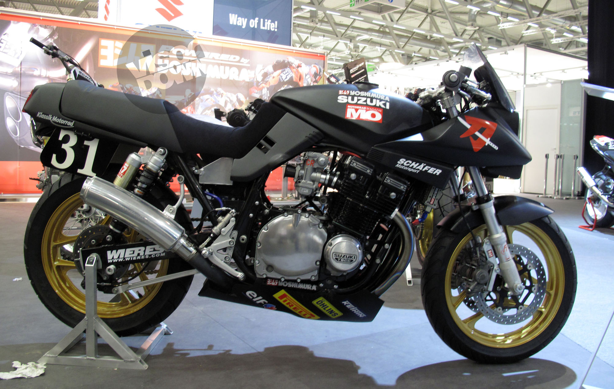 endurance racing 1981 suzuki katana visordown. Black Bedroom Furniture Sets. Home Design Ideas
