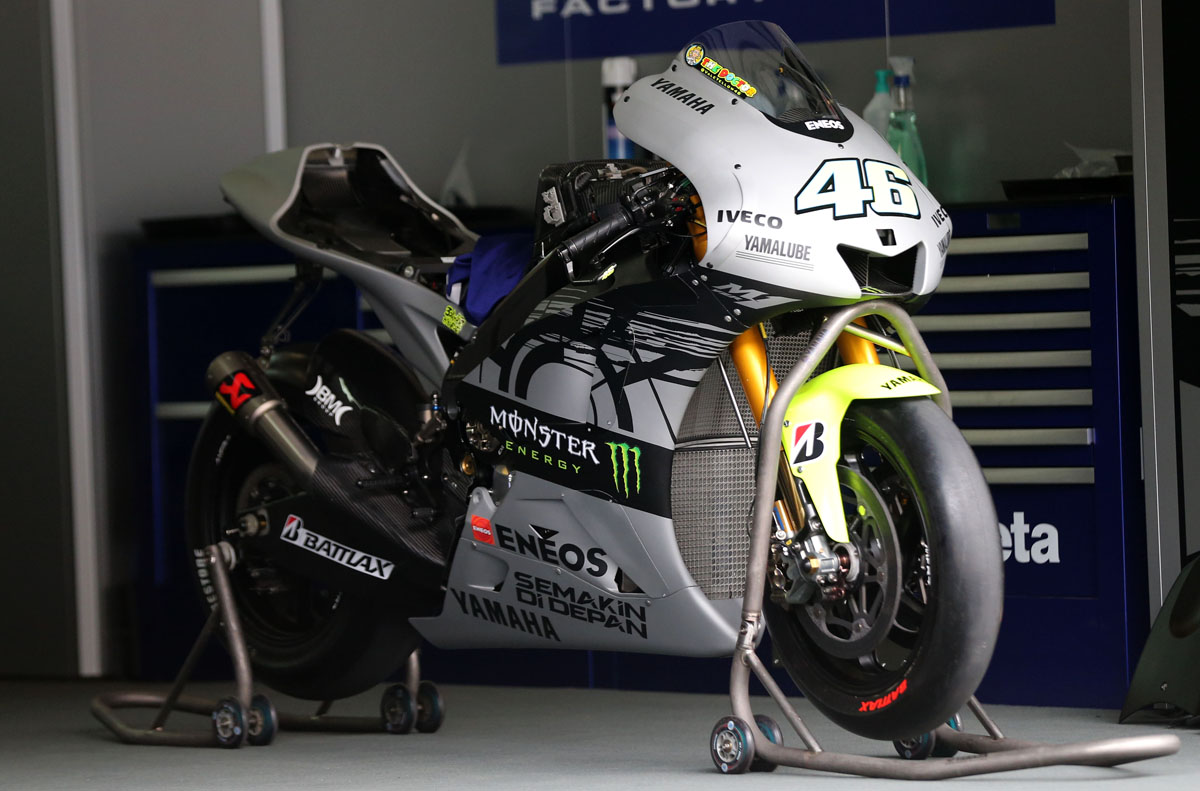 Rossi S Test Bike Revealed Visordown