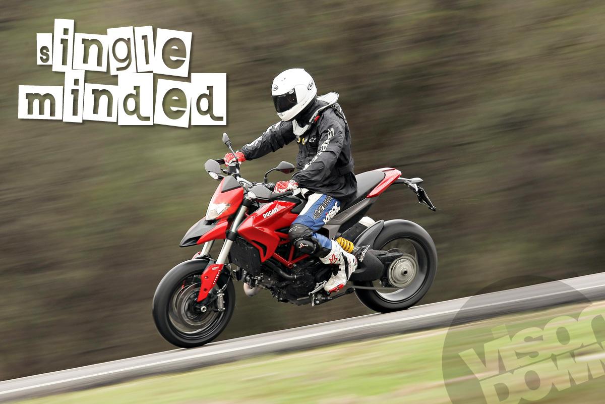 First Ride: 2013 Ducati Hypermotard review | Visordown