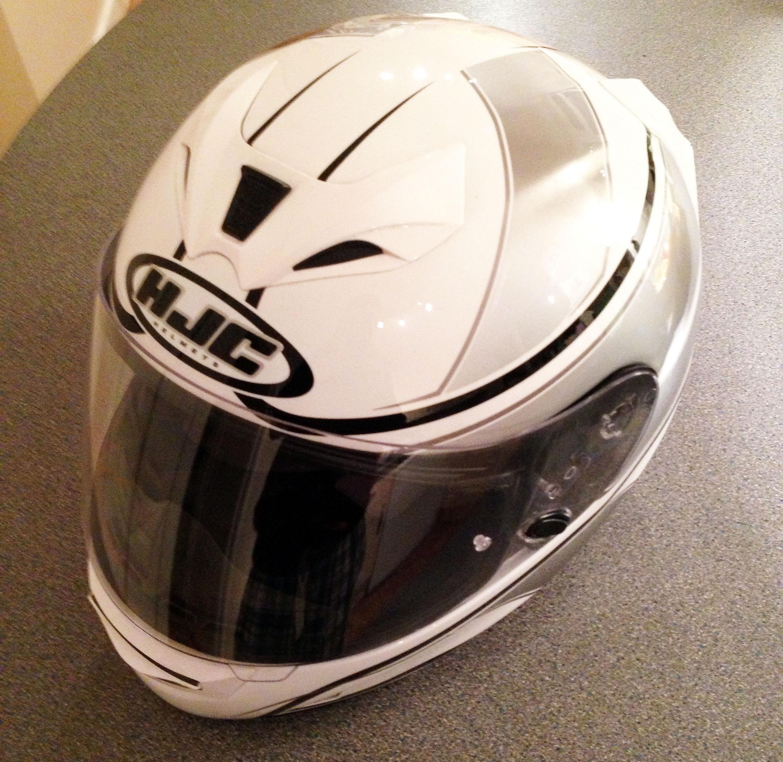 used hjc fg 15 helmet visordown. Black Bedroom Furniture Sets. Home Design Ideas