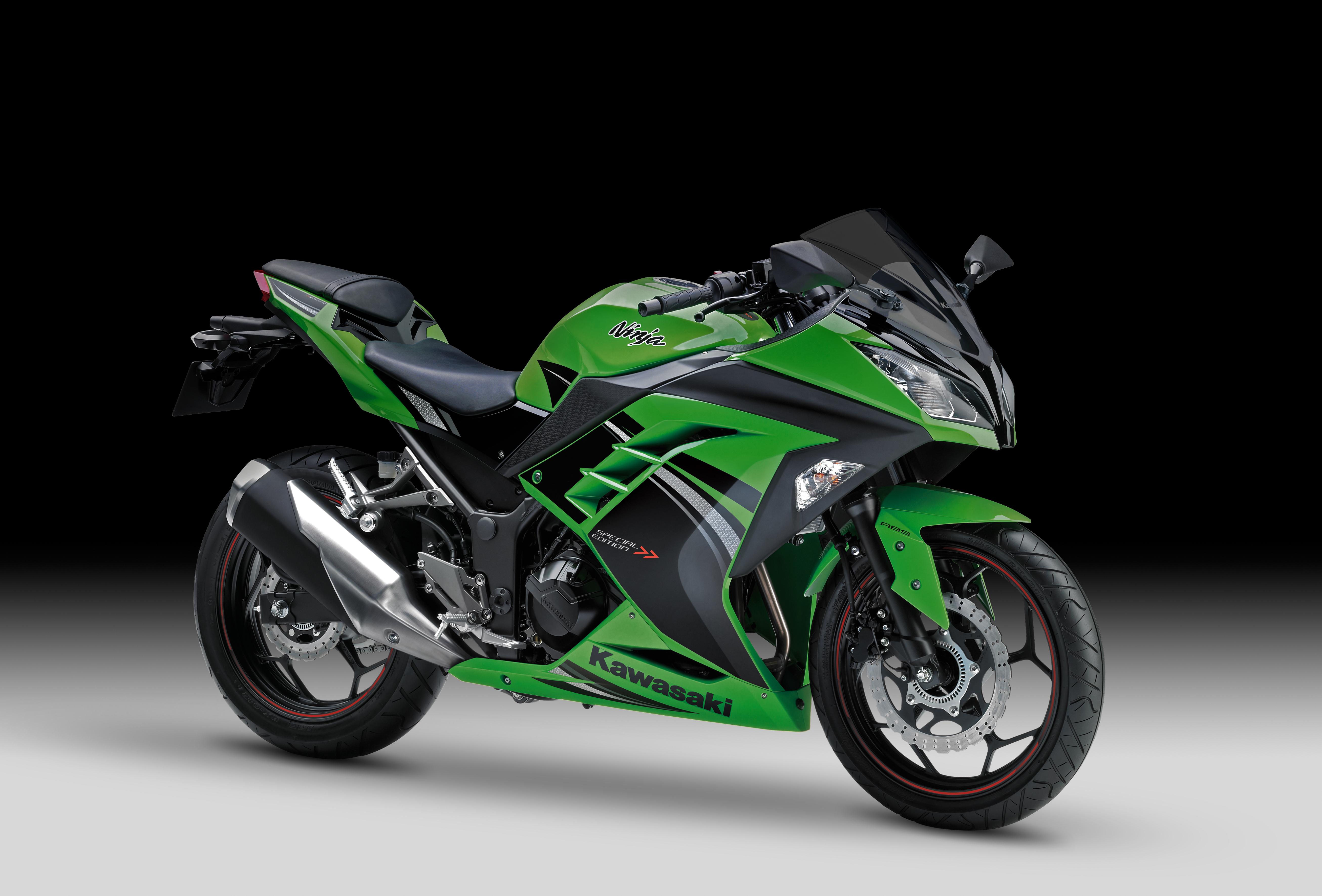 Kawasaki Reveals Ninja 300 Special Edition Visordown