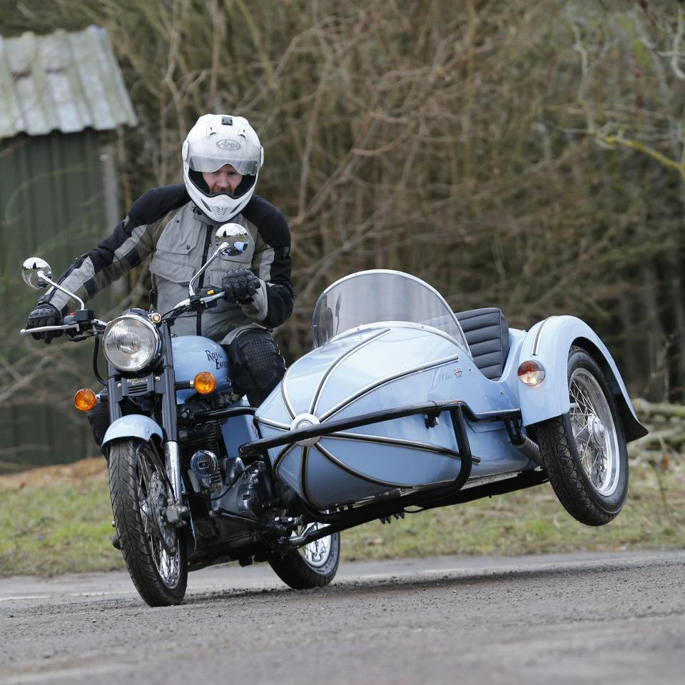 Sidecar sales booming. No, we hadn't noticed either