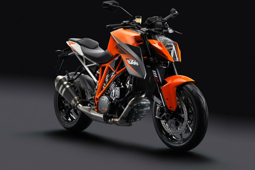 KTM Super Duke R: 0-124mph in 7.2 seconds