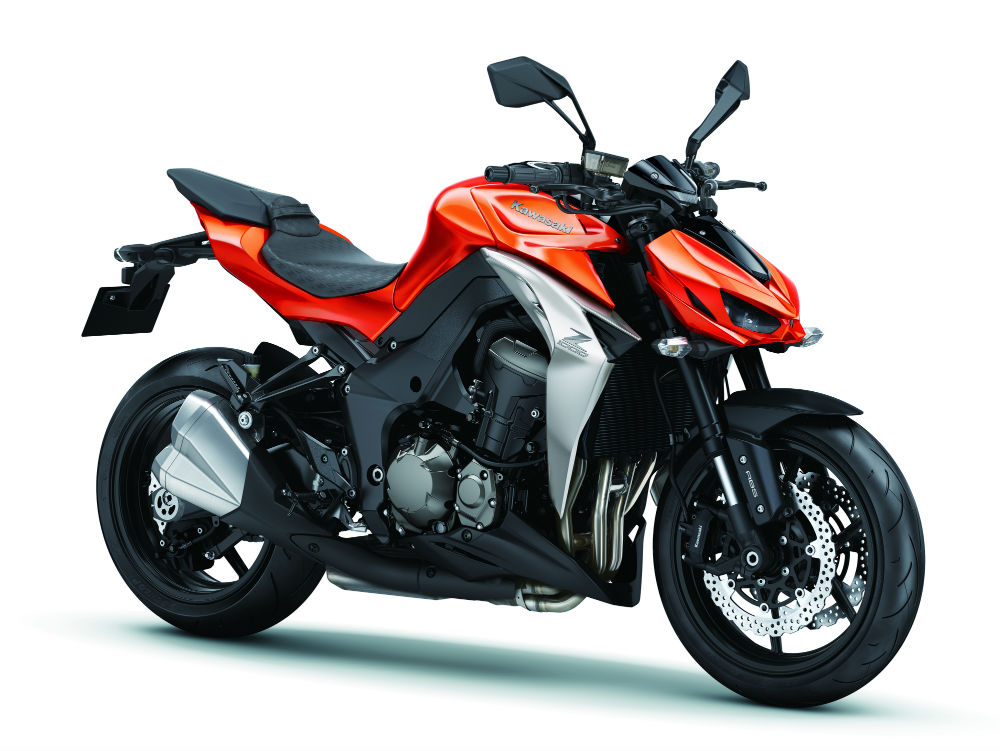 The New Z1000 Comes In Grey Green Orange And Black With Prices To Be Announced