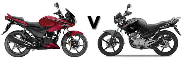 Versus: Honda CBF125 vs Yamaha YBR125 | Visordown