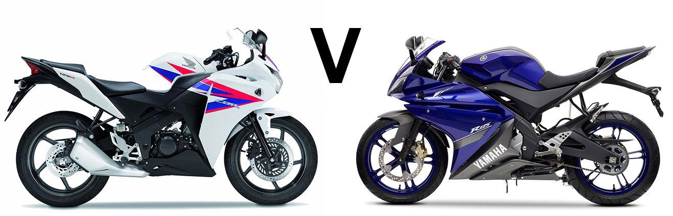 Versus: Yamaha YZF-R125 vs Honda CBR125R | Visordown