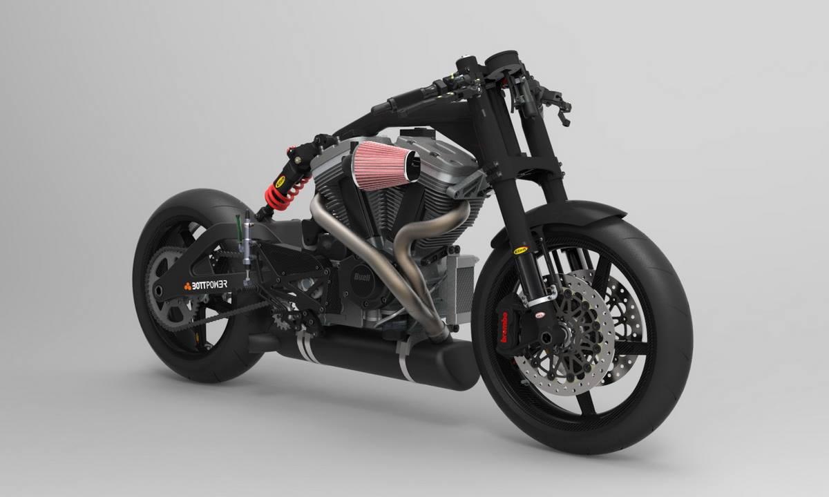spanish firm bottpower 39 s new cafe racer visordown. Black Bedroom Furniture Sets. Home Design Ideas