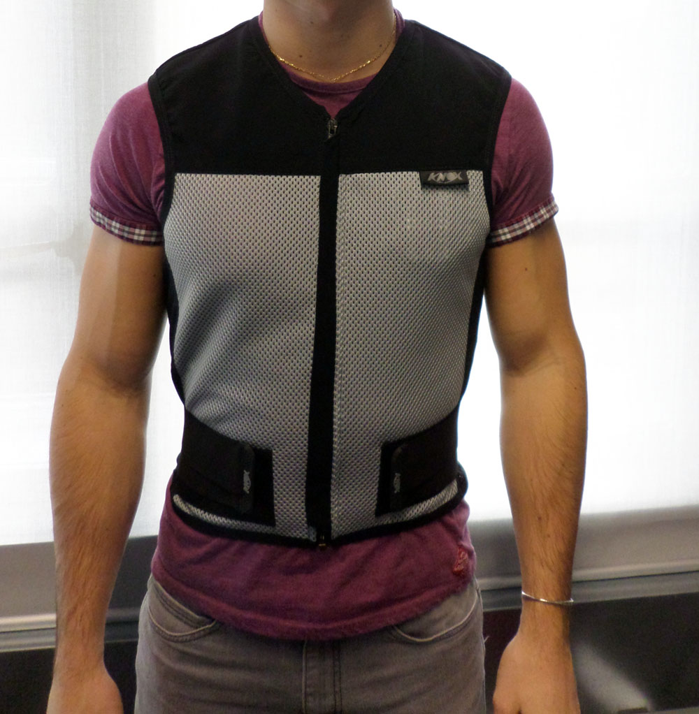 Used: Knox Fast back gilet back protector review