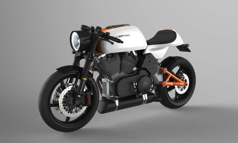Revealed: Bottpower's Bott XC1 café racer