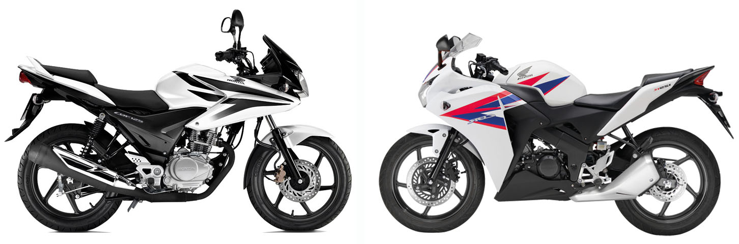 Versus: Honda CBF125 vs Honda CBR125 | Visordown