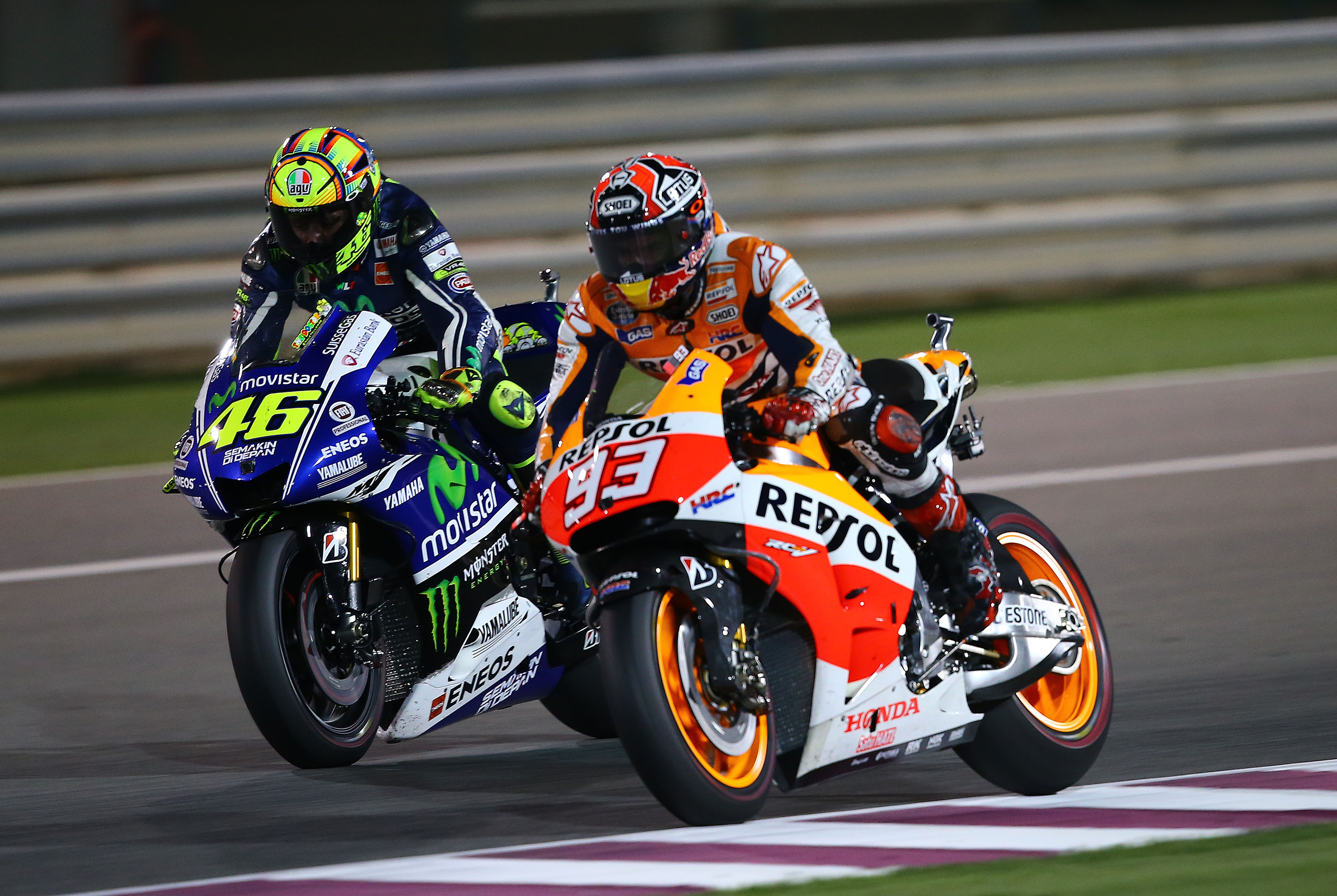 Rossi on Marquez battle: 'like an old ... | Visordown
