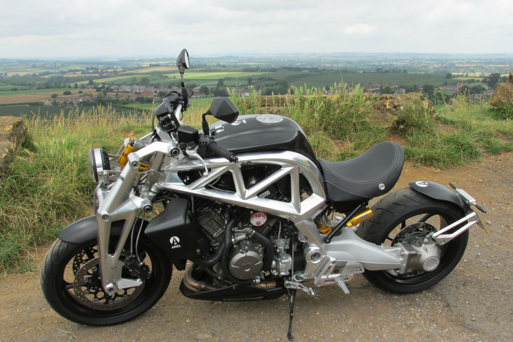 First Ride Ariel Ace Review Visordown