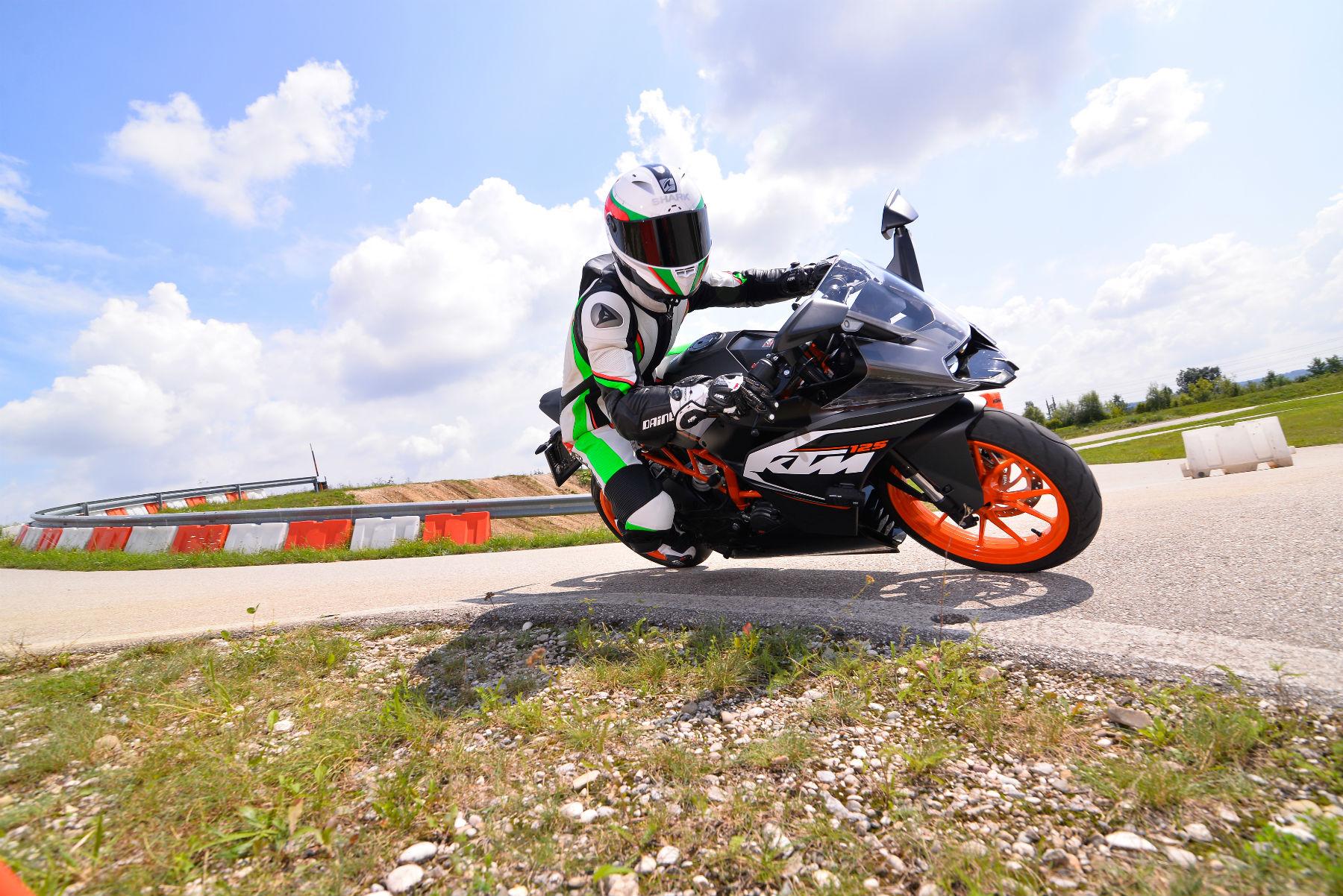 first ride: ktm rc 125 review   visordown