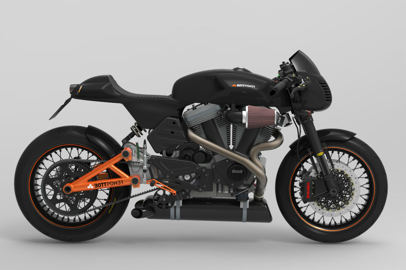 Bott XC1 Café Racer: New version revealed