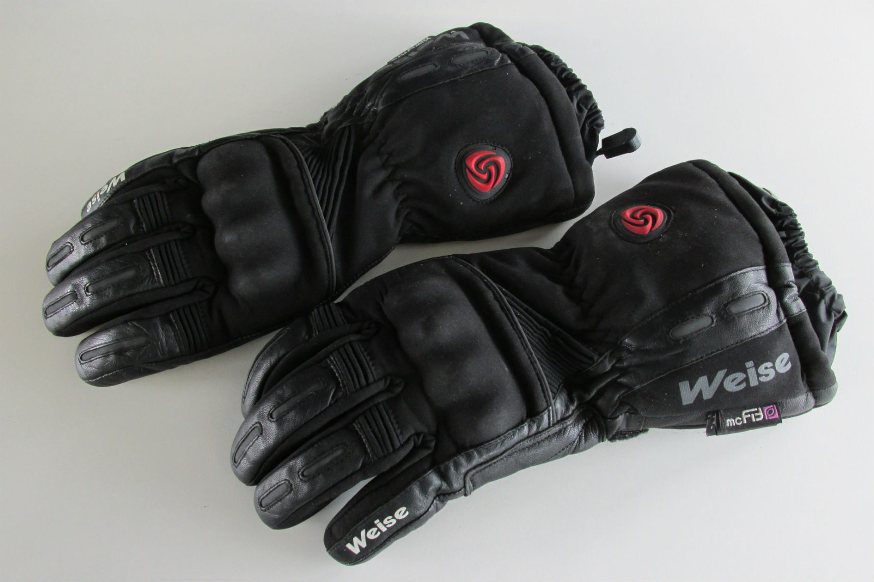 Heated motorcycle gloves vs heated grips - Used Review Weise Montana Element Heated Gloves