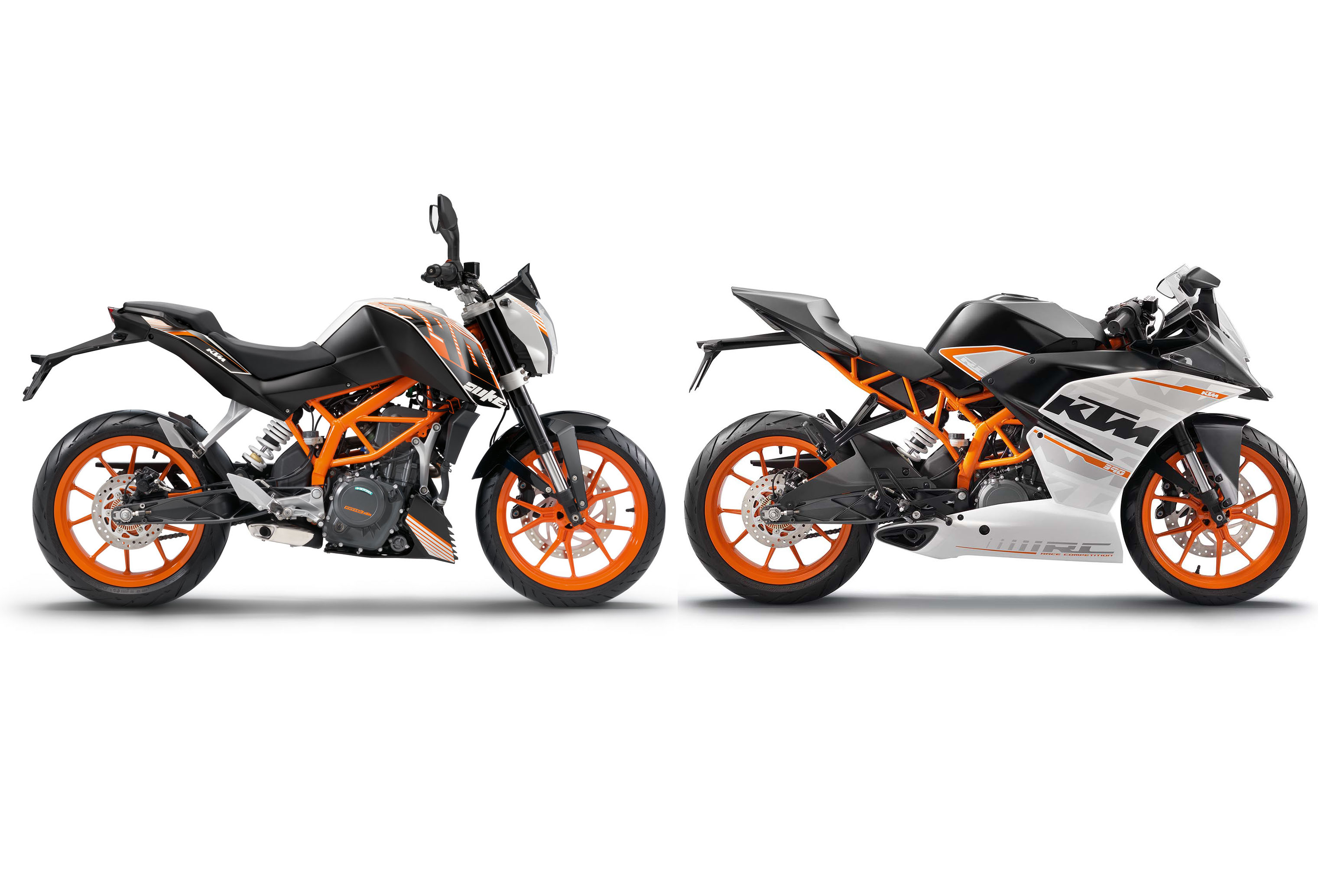 ktm duke 250 and rc250 coming visordown. Black Bedroom Furniture Sets. Home Design Ideas