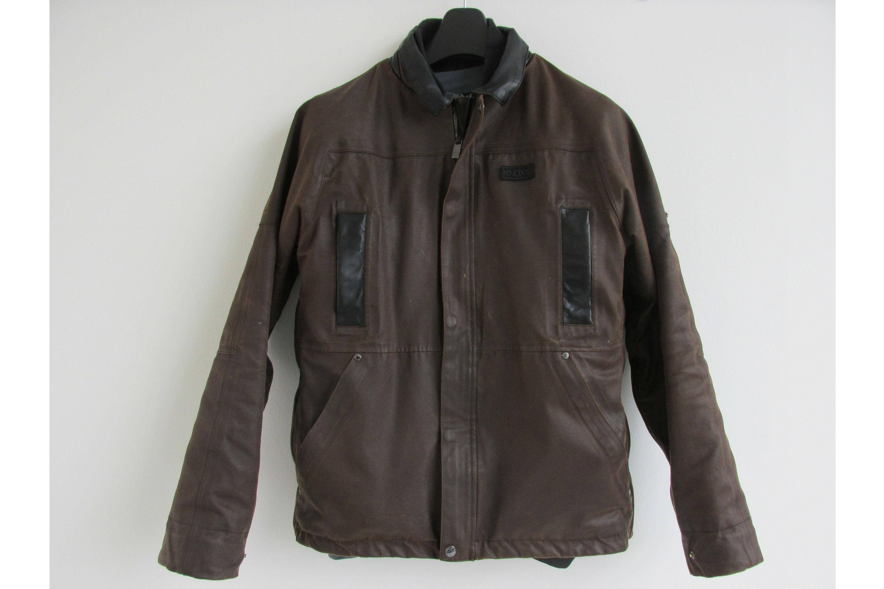 Used Review Knox Leonard Wax Jacket Qu Visordown