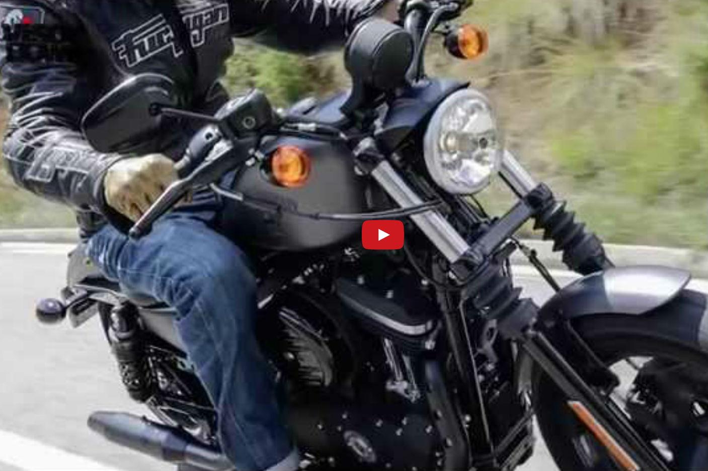 Video review: Harley-Davidson Sportster ... | Visordown