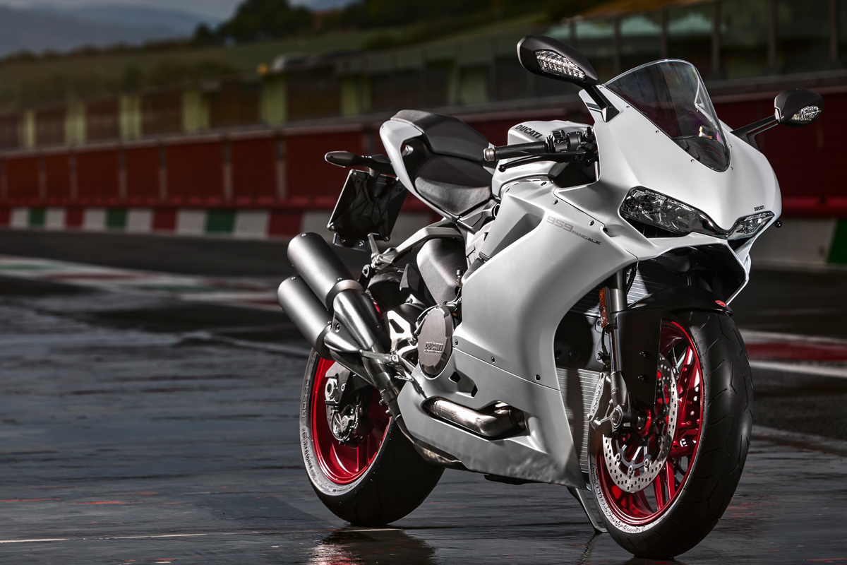 ducati officially introduces the new 959 | visordown