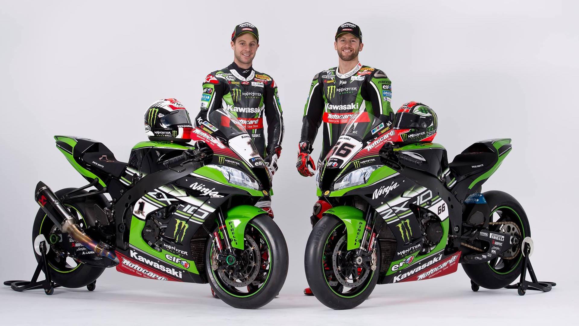 Kawasaki Racing Team Unveil 2016 Wsbk Zx 10r Livery Visordown
