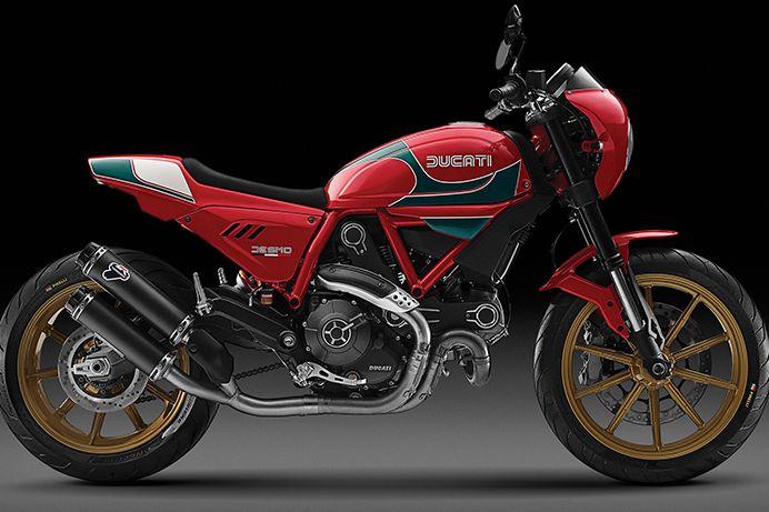 Mike Hailwood edition Ducati Scrambler