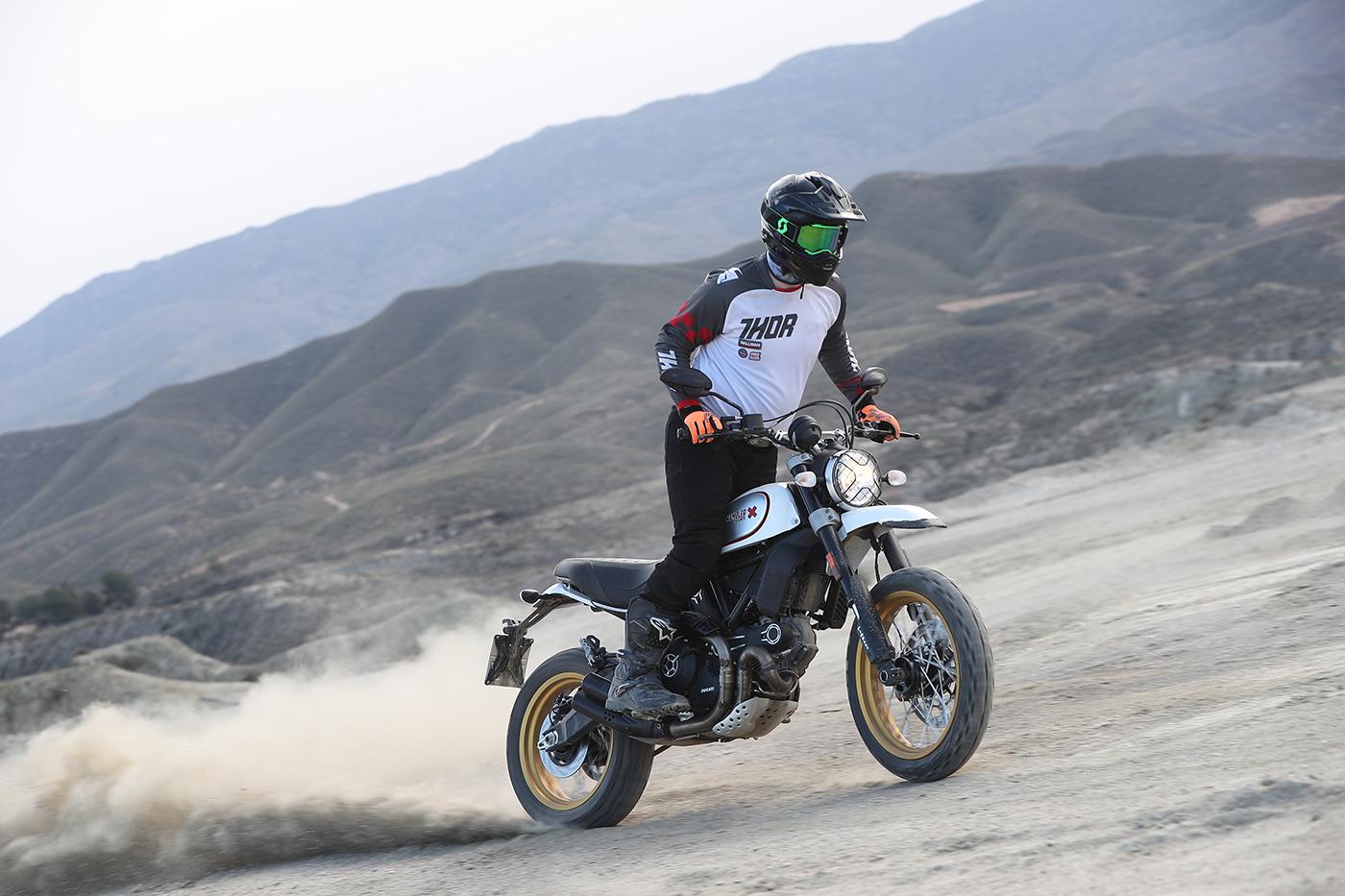 ducati scrambler desert sled review | visordown