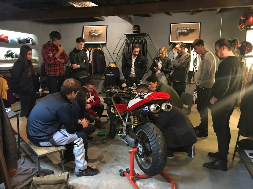 The Basics of Motorcycle Mechanics with Bolt London