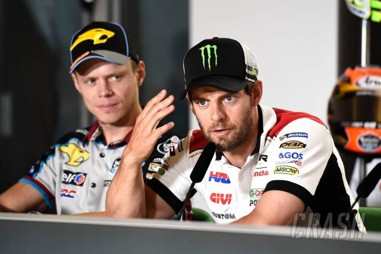Crutchlow explains knife injury: 'Cutting Parmesan is a dangerous thing'