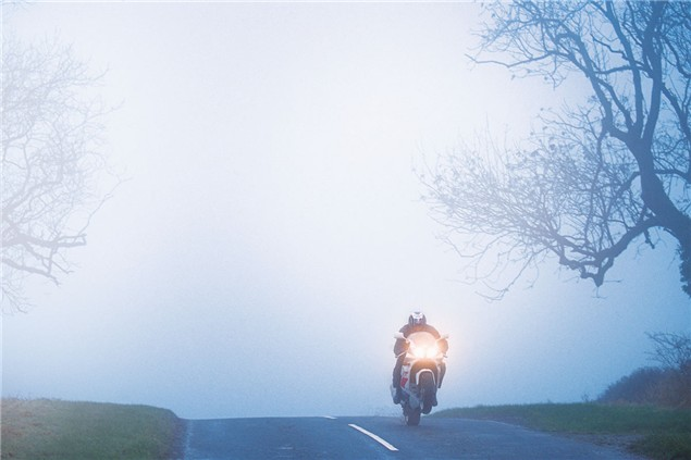 Riding in cold weather