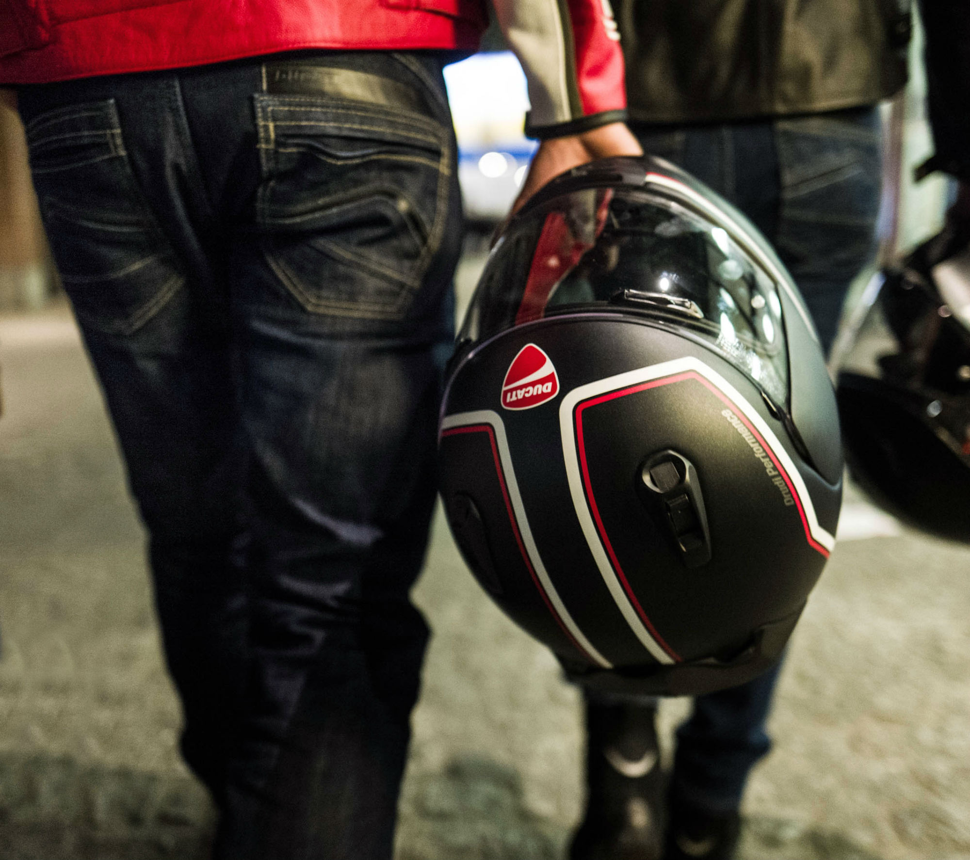 Get £100 off a new Ducati Arai helmet by giving up your old lid