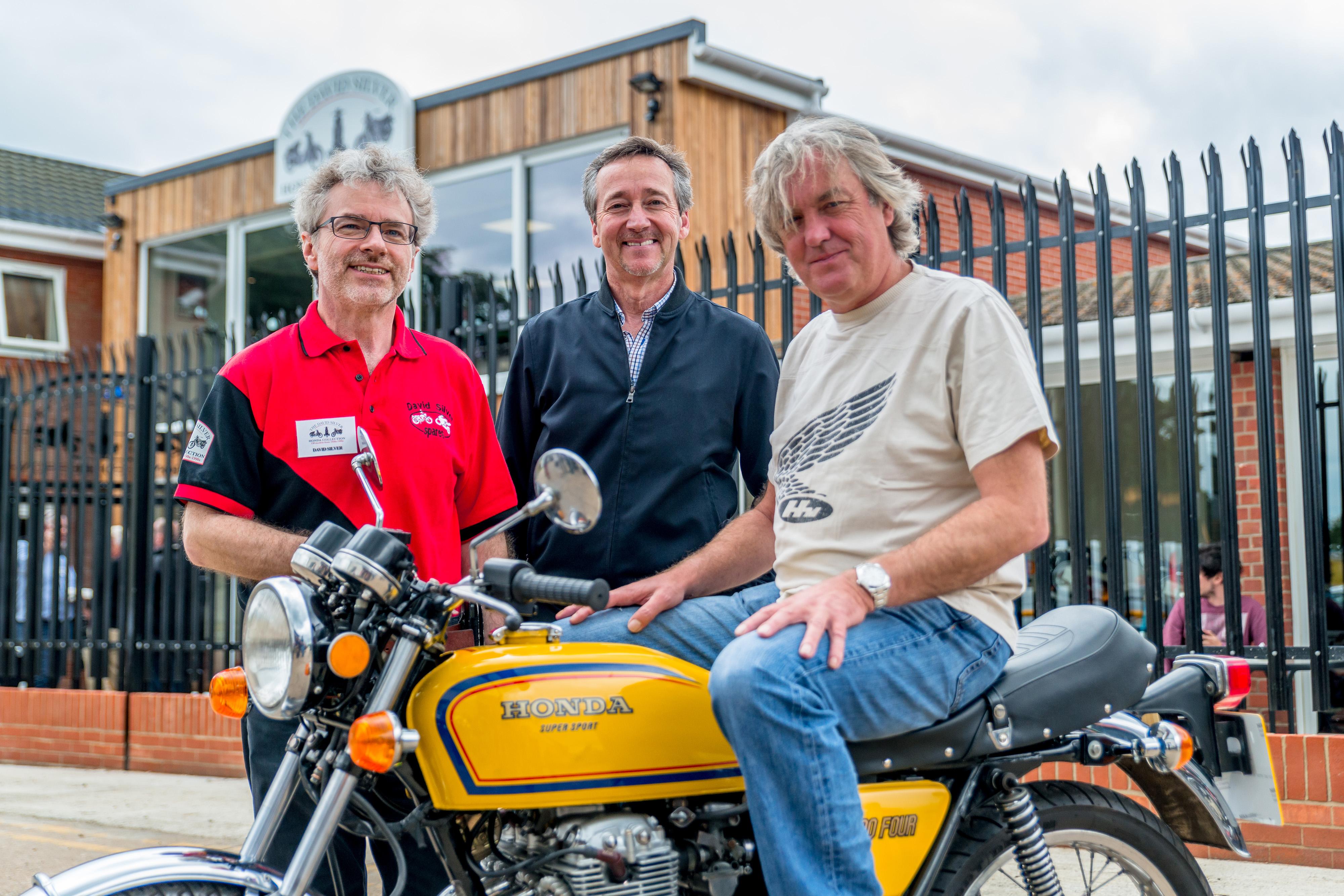 James may motorcycle