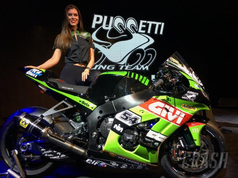 WSBK: Kawasaki Puccetti unveils 2018 colours, Haslam set for Imola wildcard