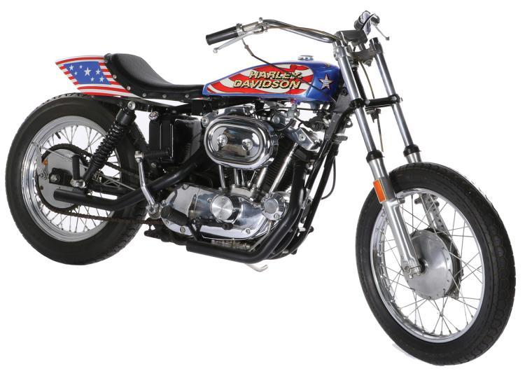 Evel Knievel Harley Auction: 'Viva Knievel!' Bike For Sale
