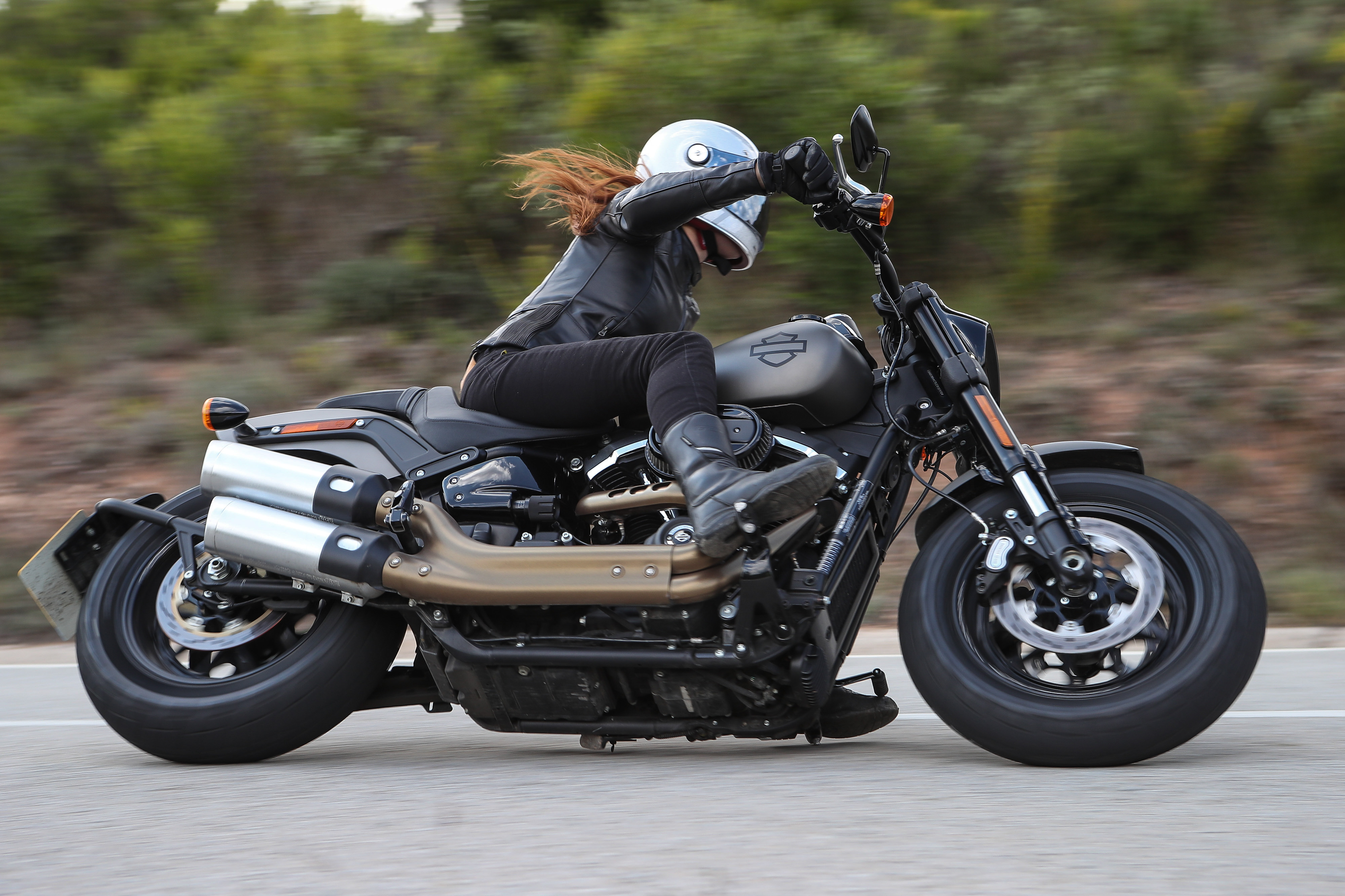 Custon Chrome Harley Davidson Sport Bike Kit