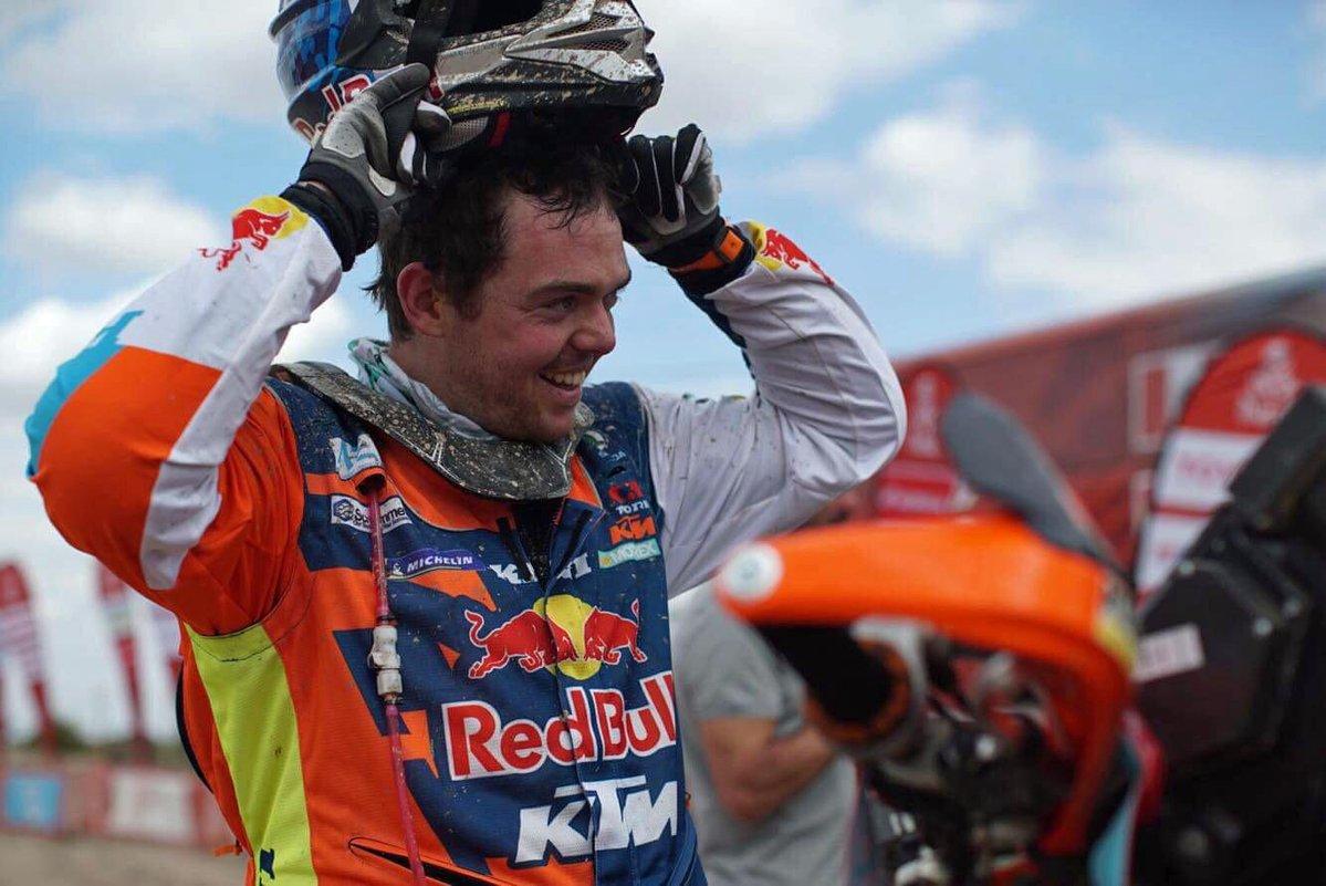KTM rider Matthias Walkner takes Dakar 2018 stage 10 victory