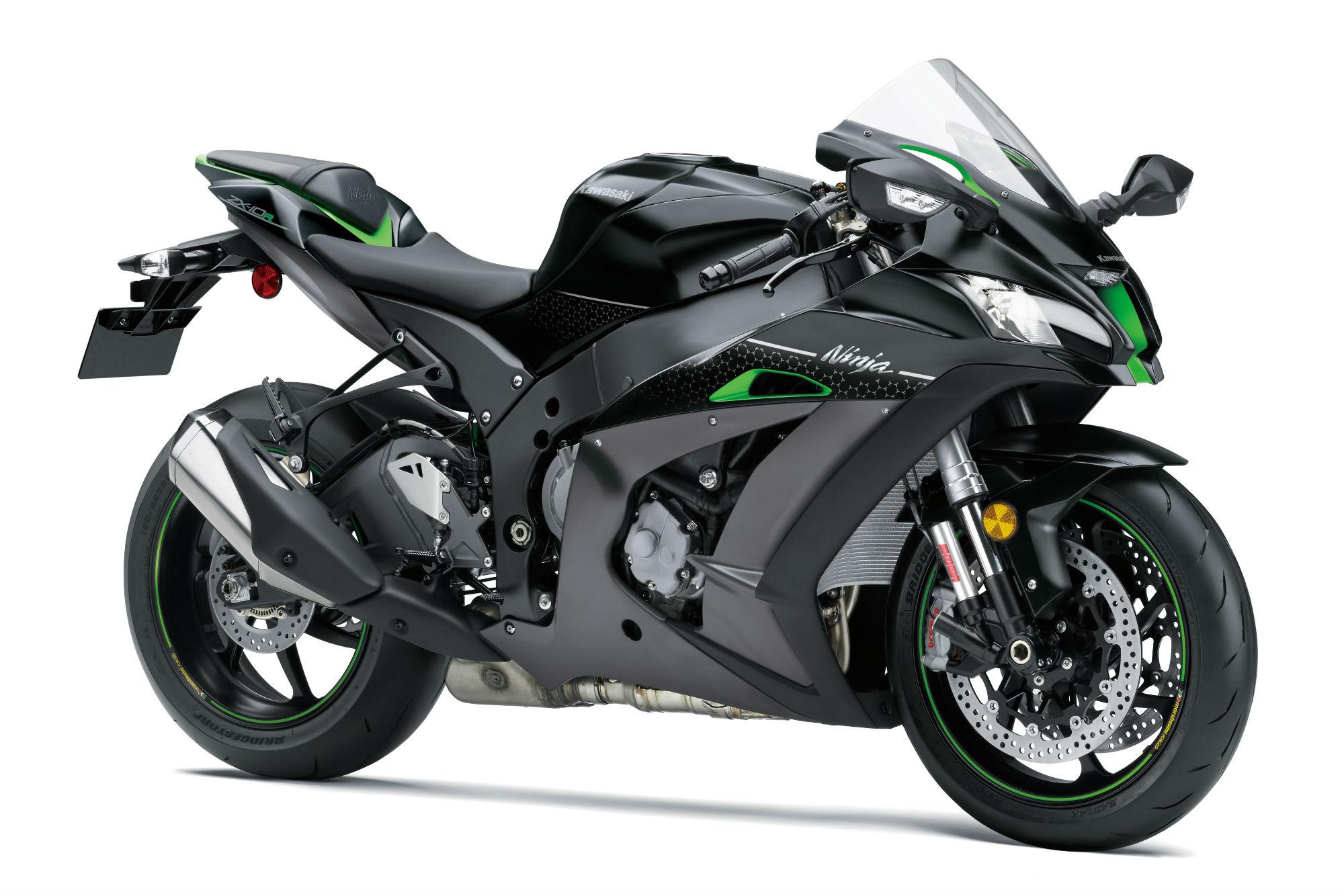 Kawasaki Ninja ZX-10R goes semi-active f... | Visordown