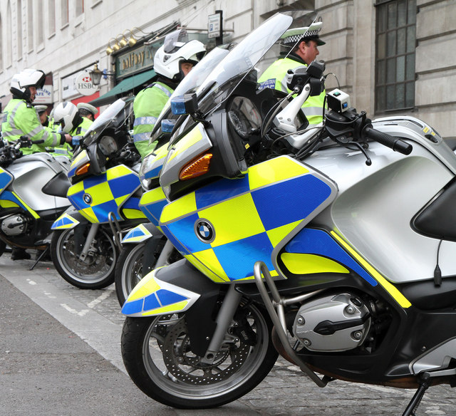 Banker found guilty of impersonating police motorcyclist