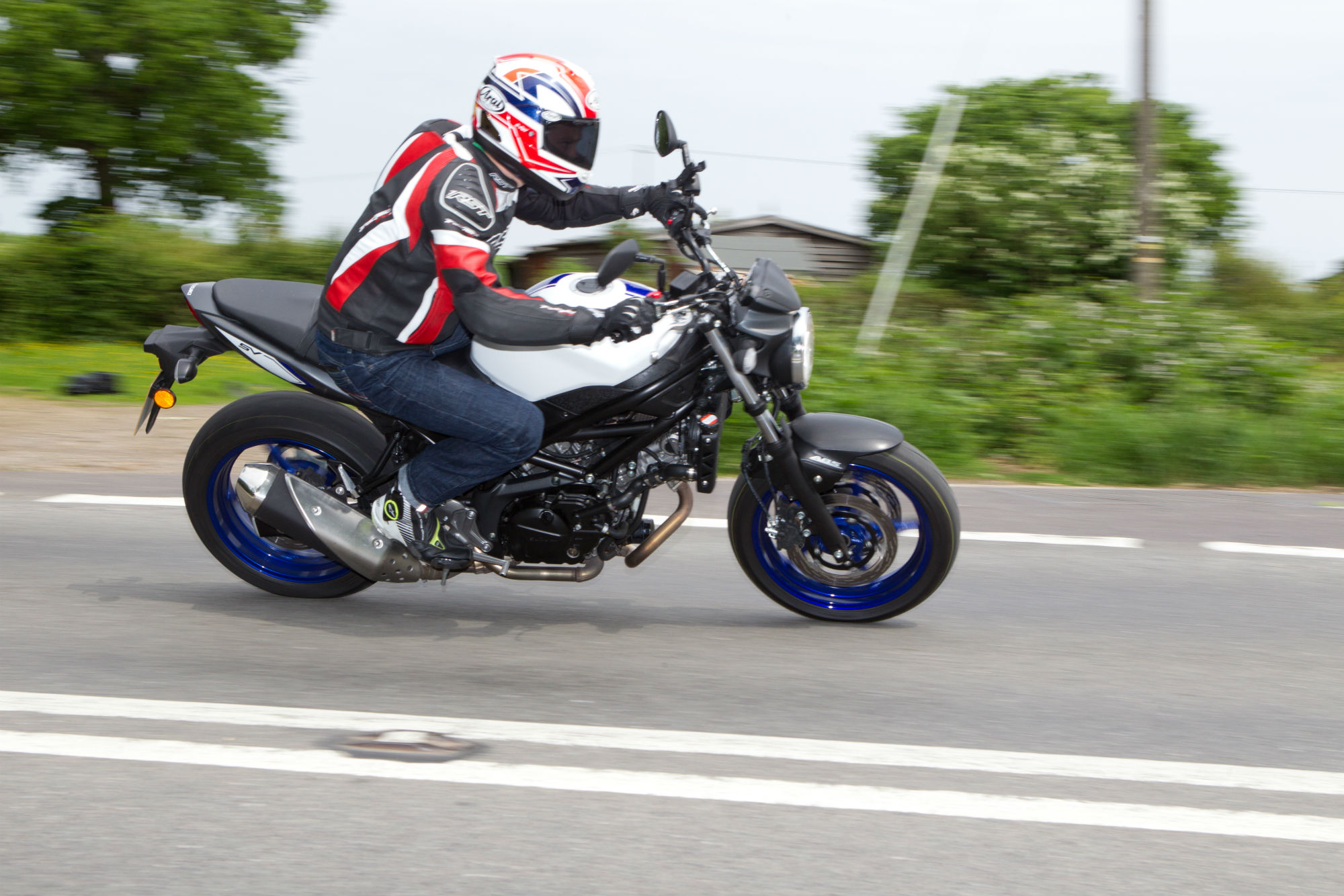 IVE Got A 2013 SV650S Which I Own And Ive This Brand New 2016 Naked SV650 As Long Term Test Bike
