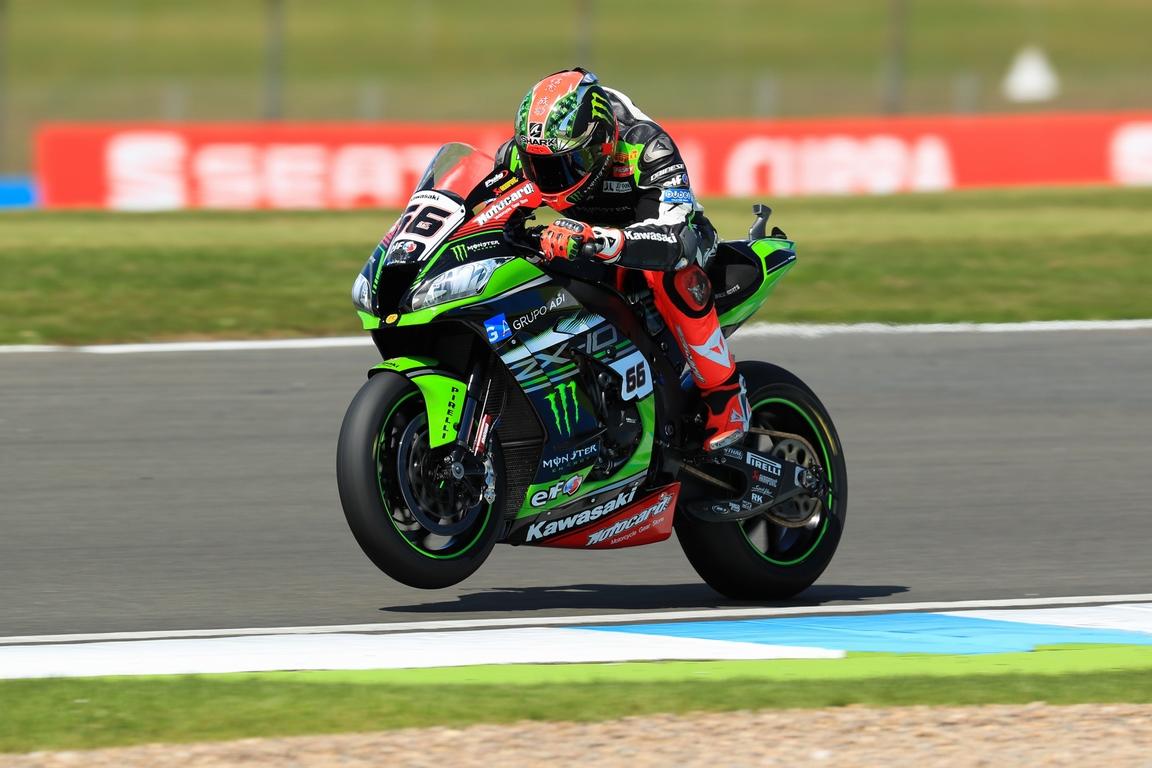 Tom Sykes, Kawasaki Racing Team, Donington Park [Credit: Ian Hopgood]