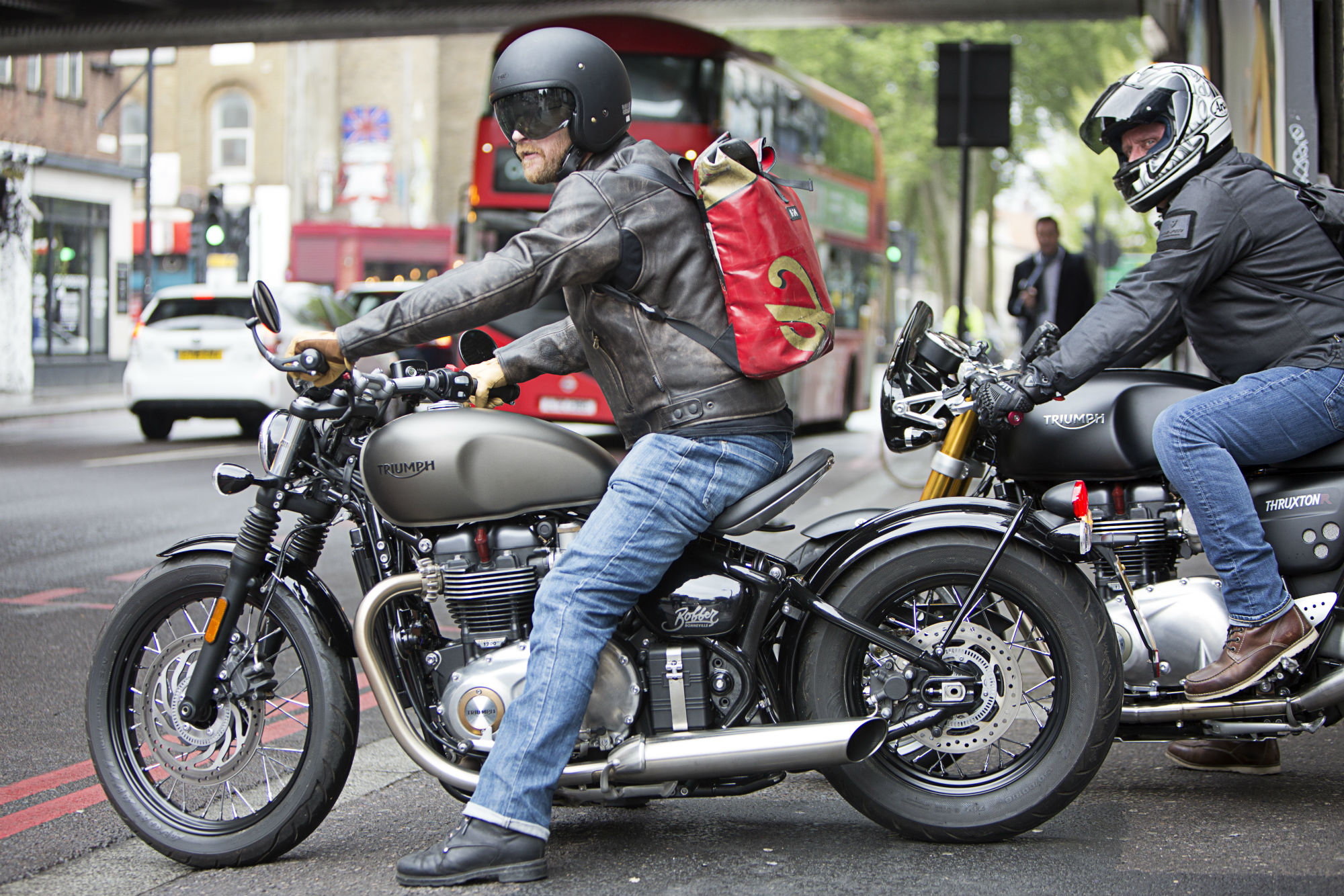 Tested Weise Docklands Retro Leather Ja Visordown