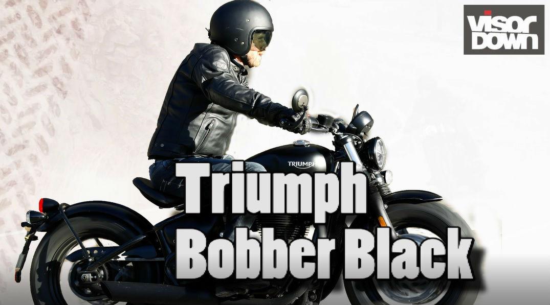 Triumph Bobber Black Video Review Visordown