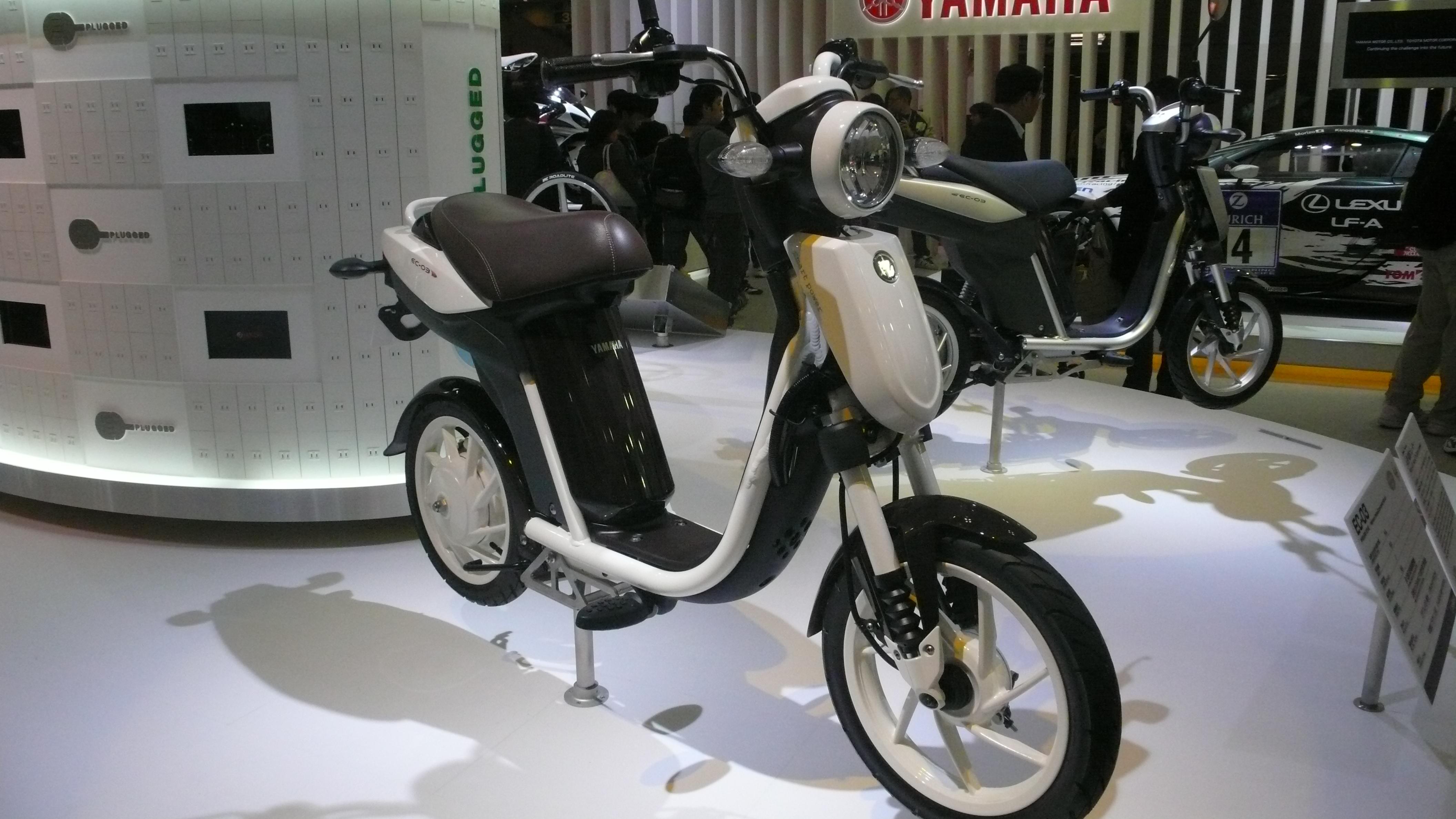 Yamaha Motor's new President speaks of electric future