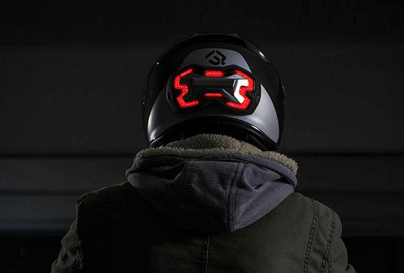 Introducing The Helmet Brake Light Visordown