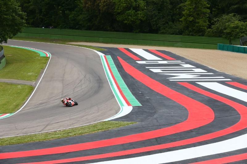Chaz Davies, Imola, World Superbike [Credit: Gold and Goose]
