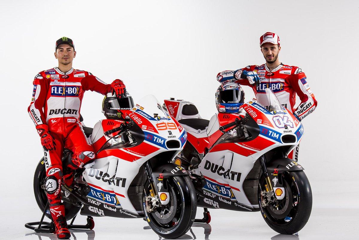 Ducati Launches Motogp 2017 Bike With Lo Visordown