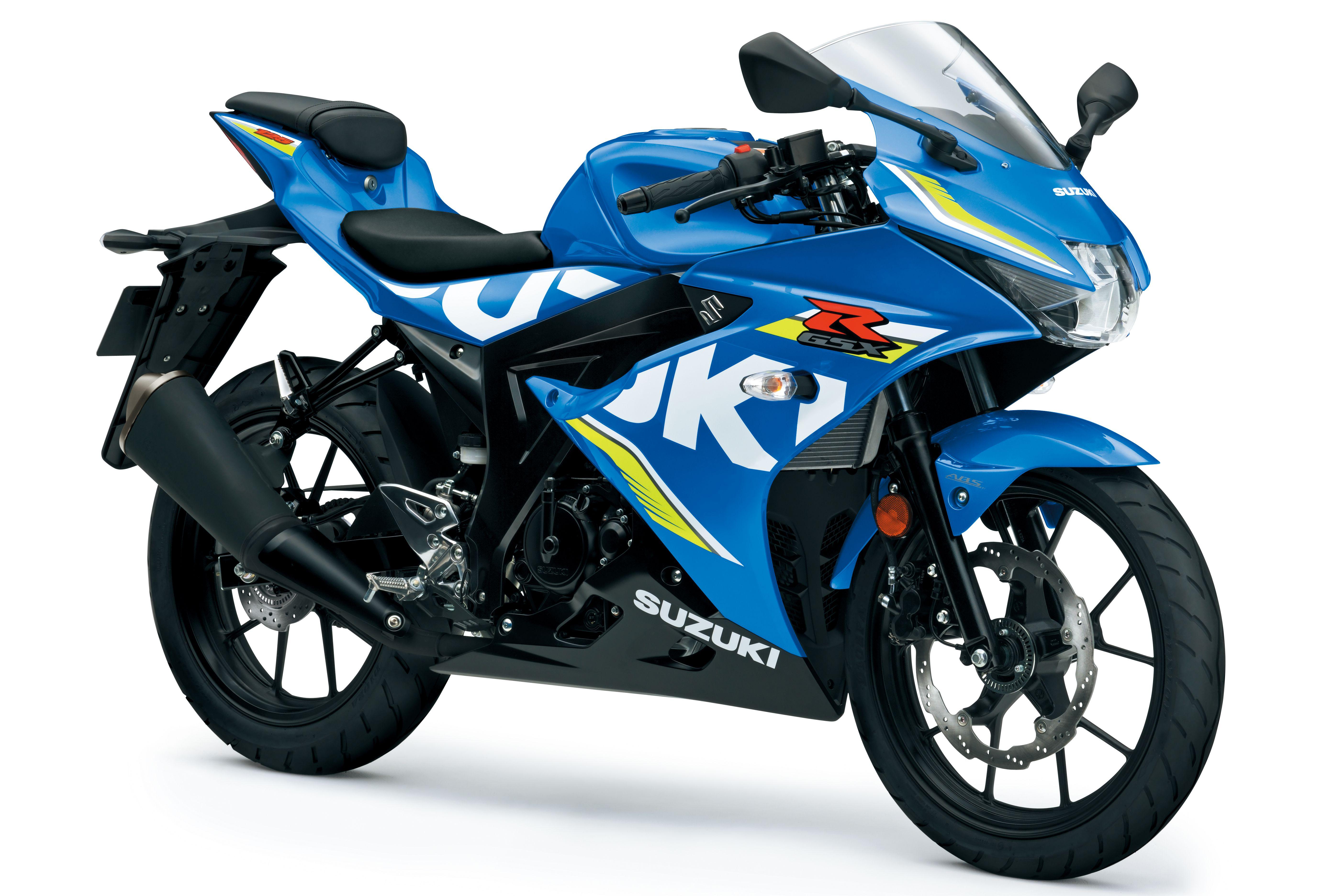 Here's Suzuki's new GSX-R125 | Visordown